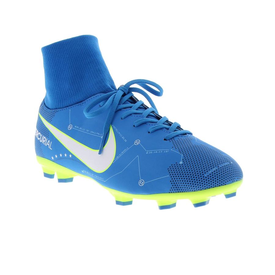 ... Chuteira de Campo Nike Mercurial Victory VI DF Neymar FG - Infantil ... e1db437de1b71
