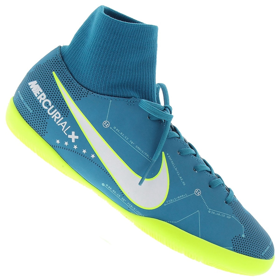Chuteira Futsal Nike Mercurial X Victory VI DF - Infantil 46ac6790dfd99