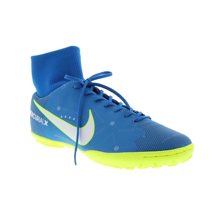 ... Chuteira Society Nike Mercurial X Victory VI DF Neymar TF - Adulto ... 42d962e644776