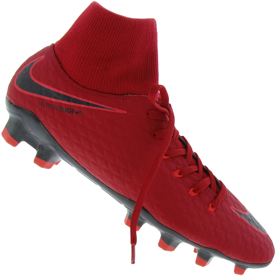 online store 54d1b d139b Chuteira de Campo Nike Hypervenom Phelon III DF FG - Adulto