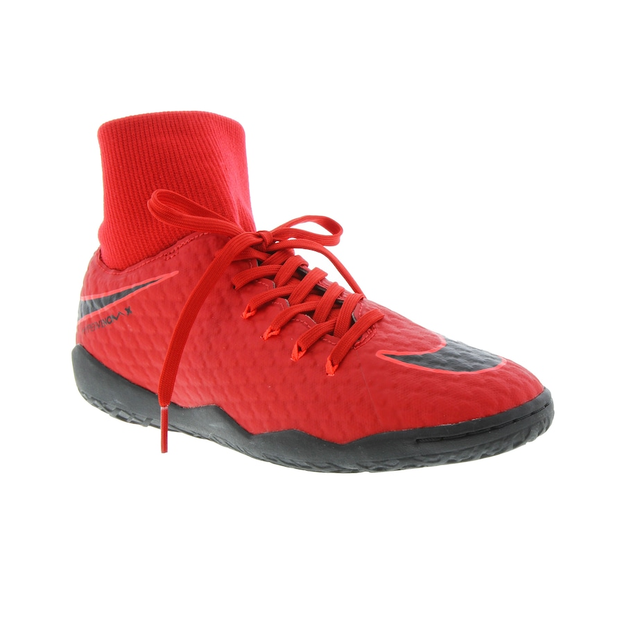 493d8554fa Chuteira Futsal Nike Hypervenom X Phelon III DF IC - Adulto