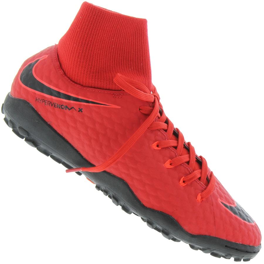 Chuteira Society Nike Hypervenom X Phelon III DF TF Adulto bd6cfc8f8b46f
