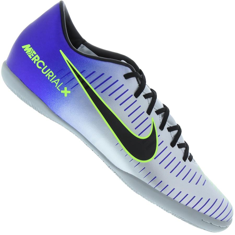 6c23749d2e Chuteira Futsal Nike Mercurial X Victory VI Neymar IC - Adulto ...