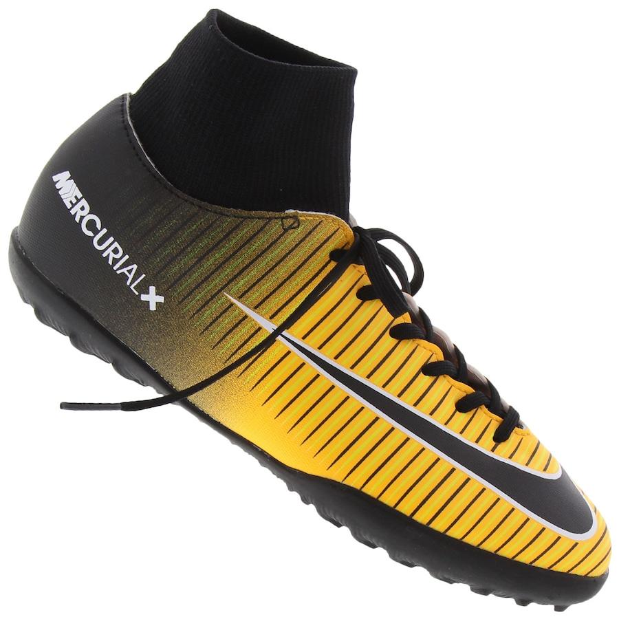 d72228ac78f0b Chuteira Society Nike Mercurial X Victory VI DF TF Infantil