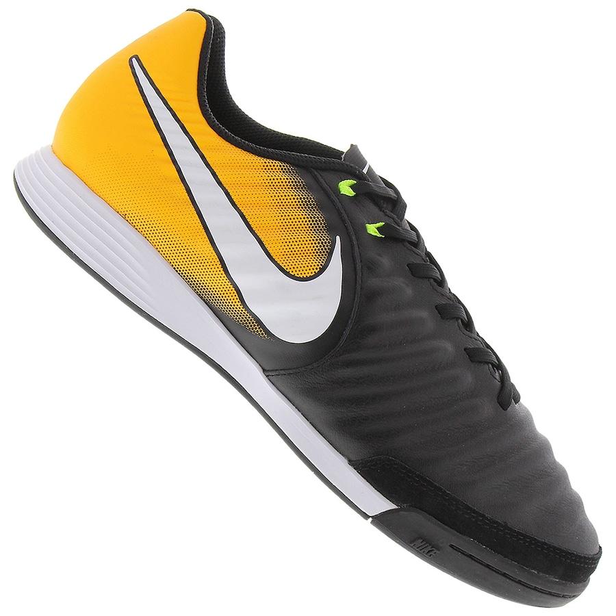 8aeedadf1d Chuteira Futsal Nike Tiempo X Ligera IV IC - Adulto