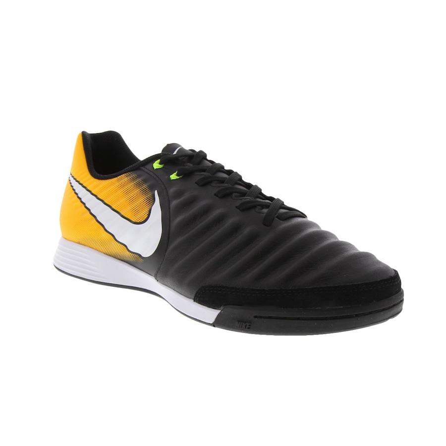 Chuteira Futsal Nike Tiempo X Ligera IV IC - Adulto 20e4a93f58cb4