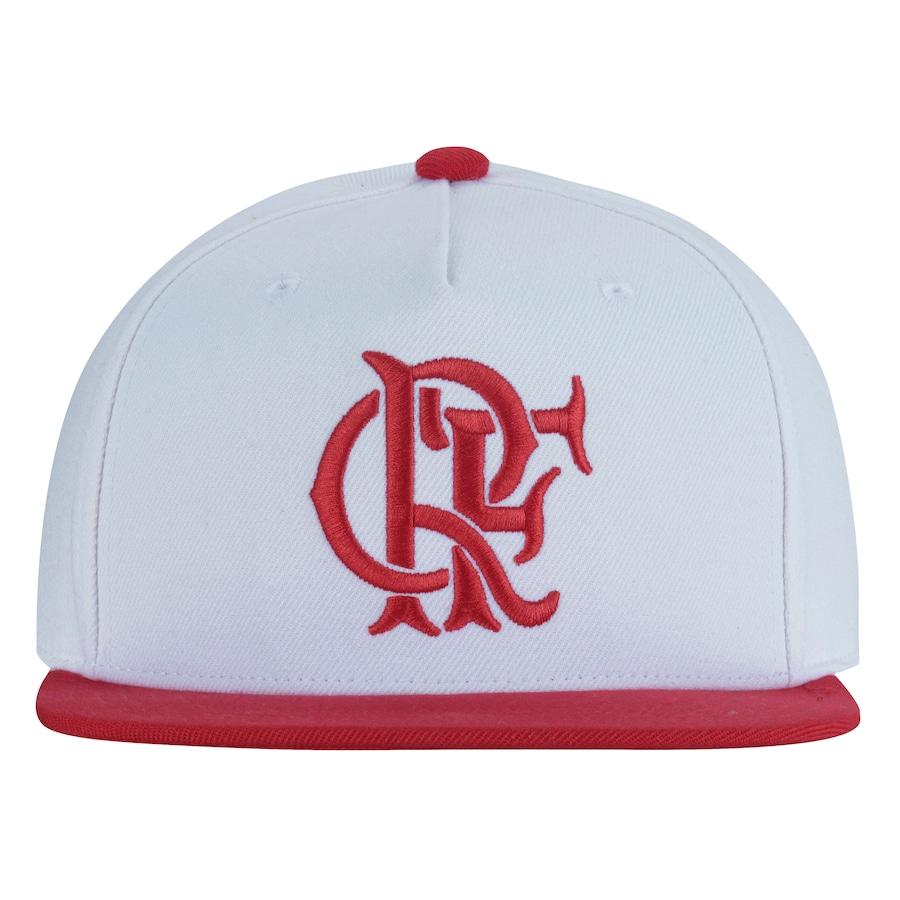 Boné Aba Reta do Flamengo adidas - Snapback - Adulto 65fb276b143