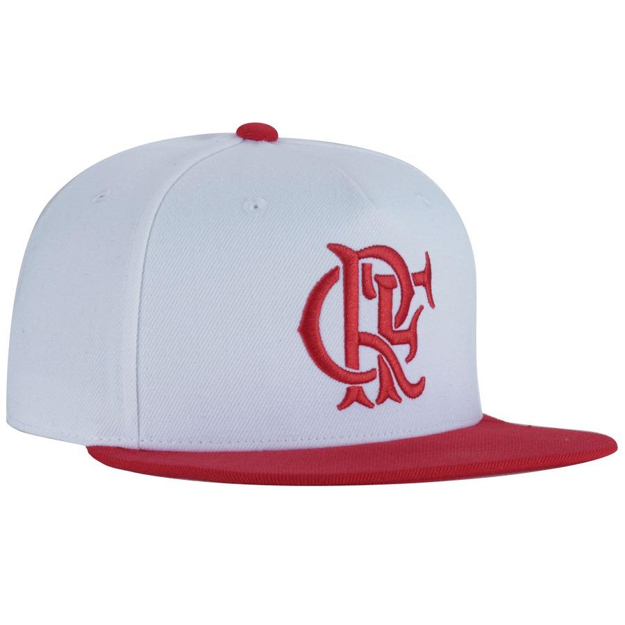Boné Aba Reta do Flamengo adidas - Snapback - Adulto 63ba74772a3
