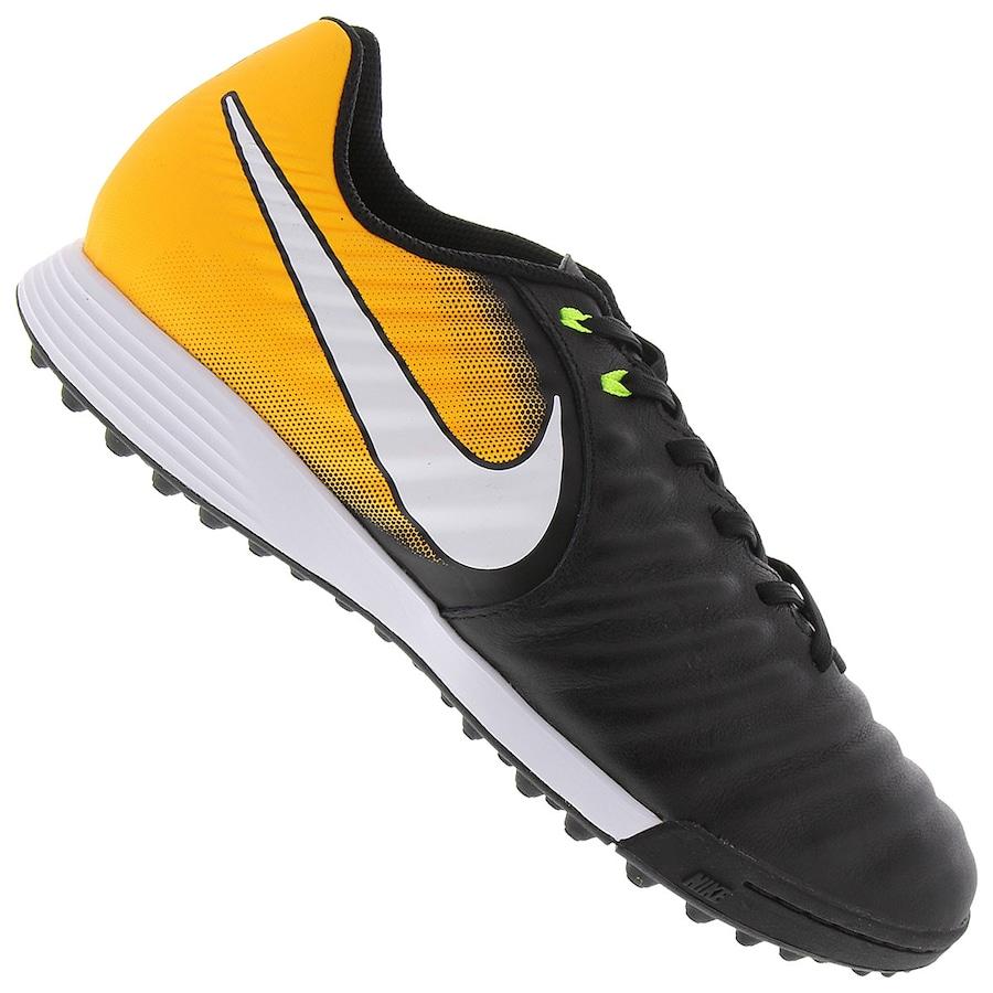 Chuteira Society Nike Tiempo X Ligera IV TF - Adulto 17c394ec22fc6