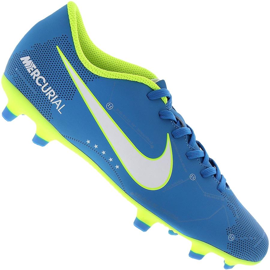 Chuteira de Campo Nike Mercurial X Vortex III Neymar FG f1a947a542538
