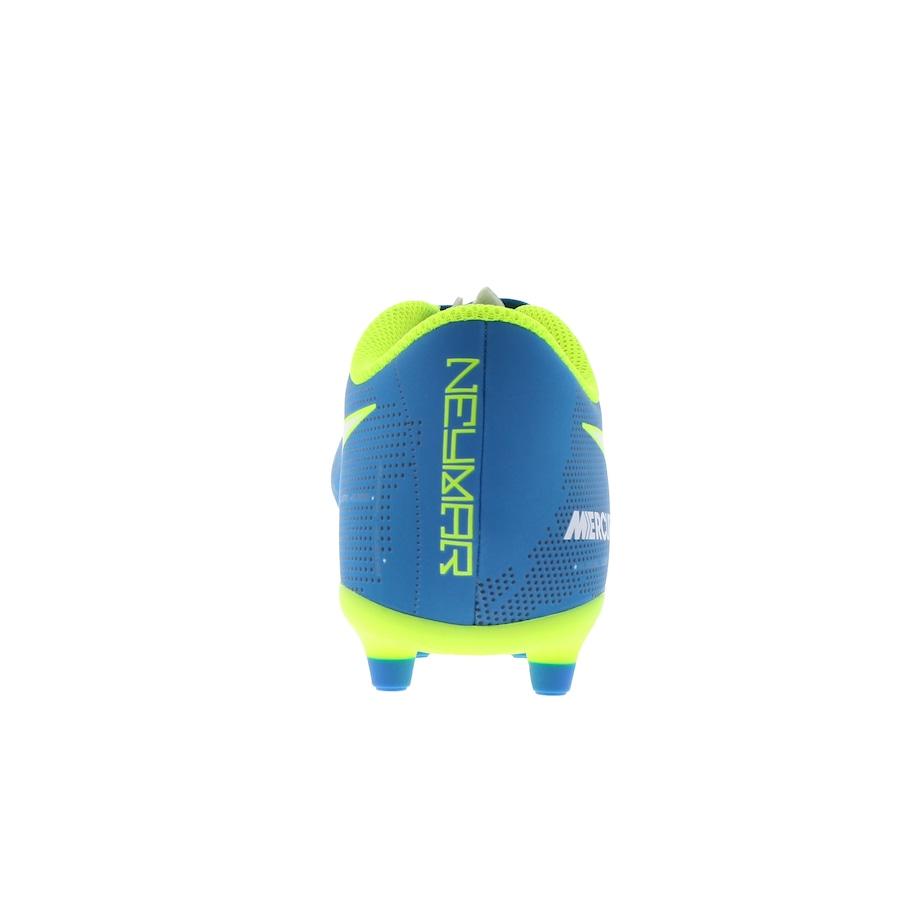 ... Chuteira de Campo Nike Mercurial X Vortex III Neymar FG - Adulto ... f5926e940ad88