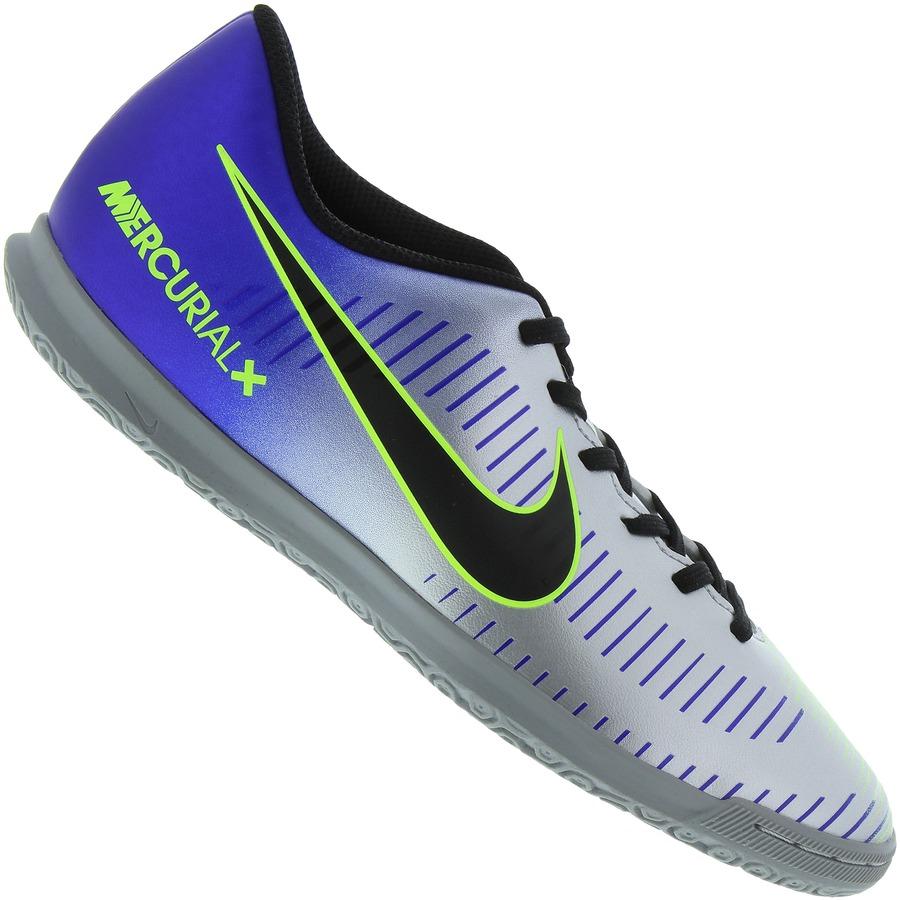6aabe887c0 Chuteira Futsal Nike Mercurial X Vortex III Neymar IC - Adulto