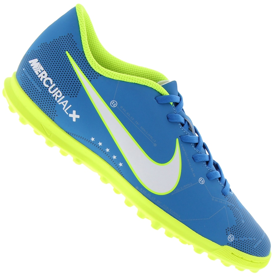 Chuteira Society Nike Mercurial X Vortex III Neymar TF 435551179a0c3