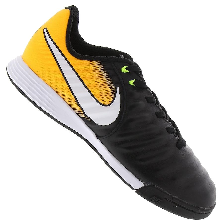 84c4b8b70895d Chuteira Futsal Nike Tiempo X Ligera IV IC - Infantil