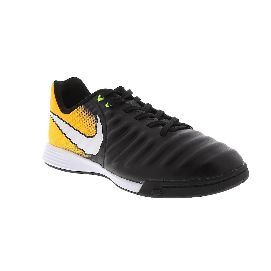 Chuteira Futsal Nike Tiempo X Ligera IV IC - Infantil 8544936a883e1