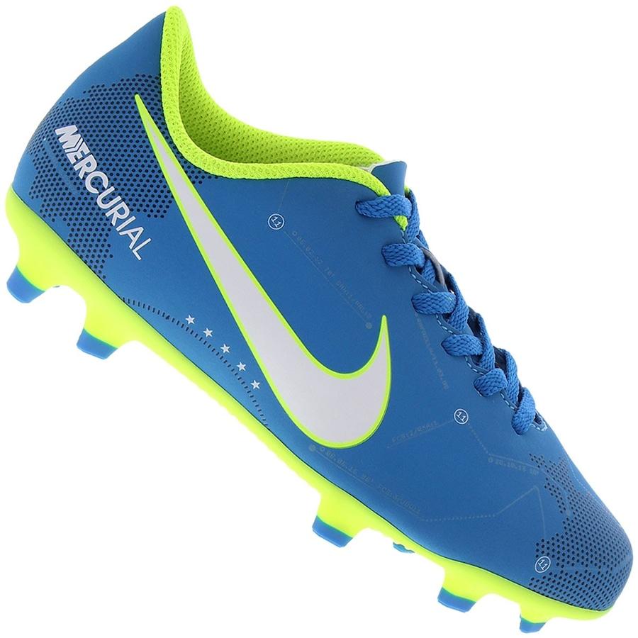 bad206cec8 Chuteira de Campo Nike Mercurial Vortex III Neymar Infantil