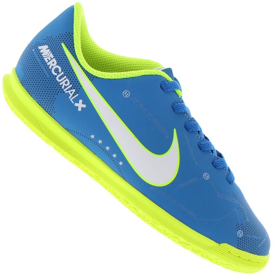 a3790e127d6 Chuteira Futsal Nike Mercurial X Vortex III Neymar IC - Inf
