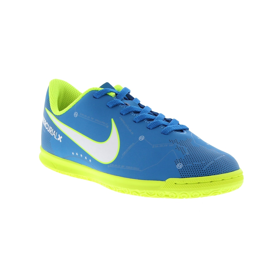 6b3fd6efb4 ... Chuteira Futsal Nike Mercurial X Vortex III Neymar IC - Infantil ...