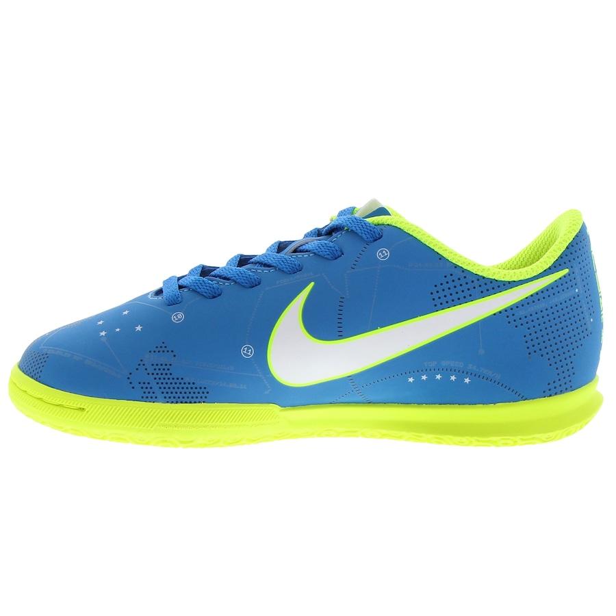 743fec9a82 Chuteira Futsal Nike Mercurial X Vortex III Neymar IC - Infantil .