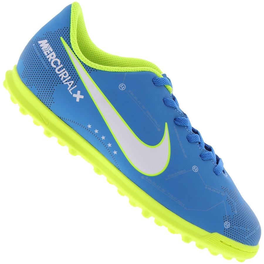 Chuteira Society Nike Mercurial X Vortex III Neymar TF - In 65b570b3405fe