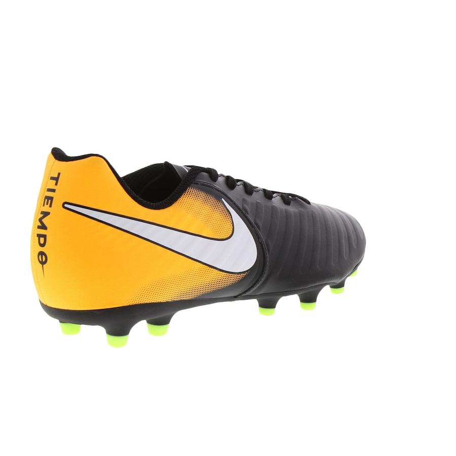 3be497689e Chuteira de Campo Nike Tiempo Rio IV FG - Adulto