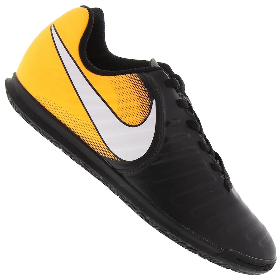 Chuteira Futsal Nike Tiempo X Rio IV IC - Infantil 495d715176e73