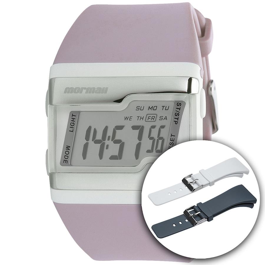 3ec20e40a953f Relógio Troca Pulseira Digital Mormaii Acquarela - Feminino