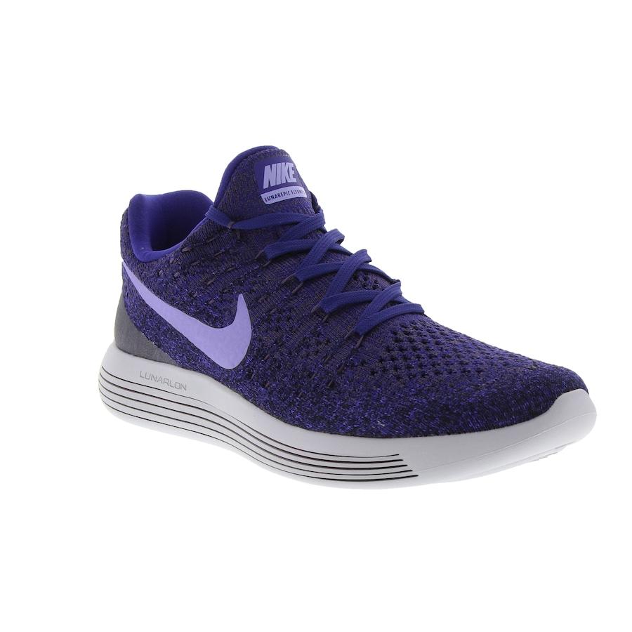 Tênis Nike Lunarepic Low Flyknit 2 - Feminino 5843e1895f15e