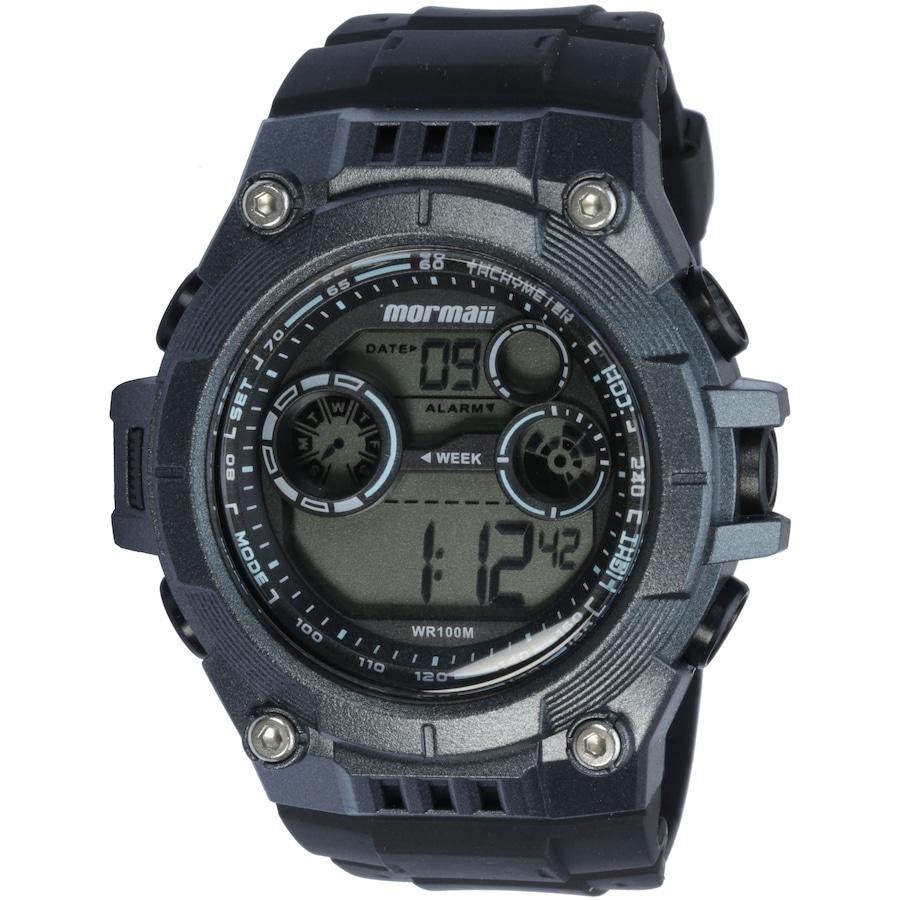 a6f7d7a0e4f Relógio Digital Mormaii MO9000B - Masculino