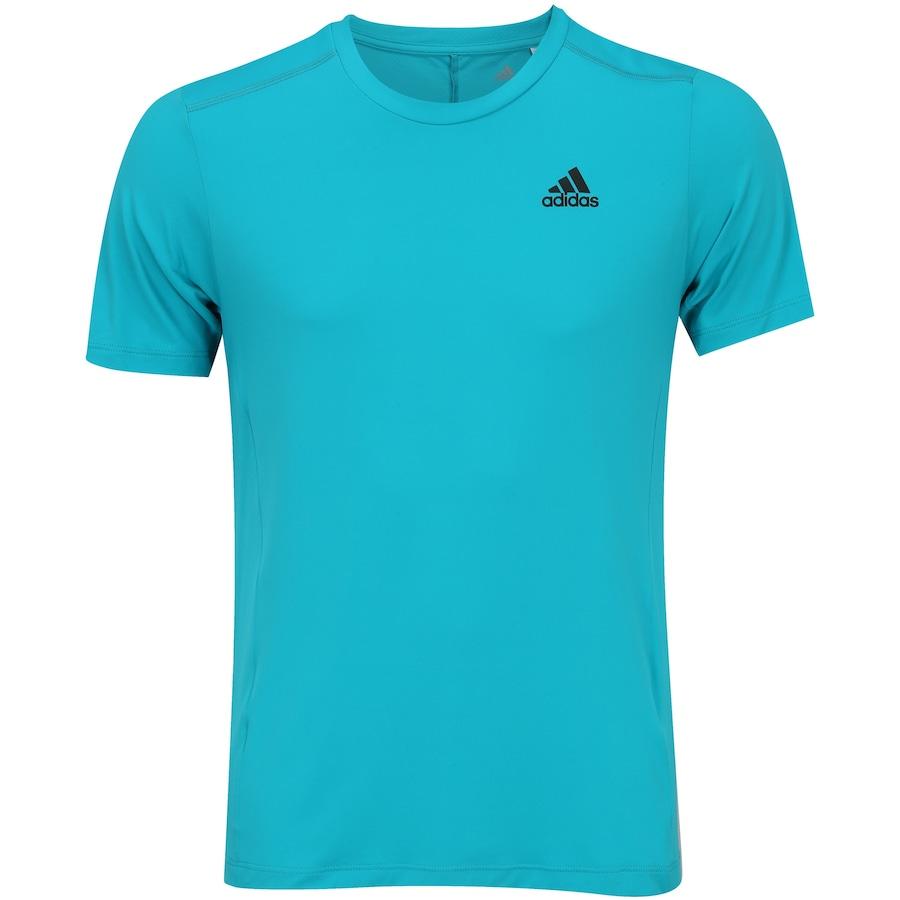 0e75a86c5b5b9 Camiseta com Proteção Solar UV adidas Poliamida - Masculina