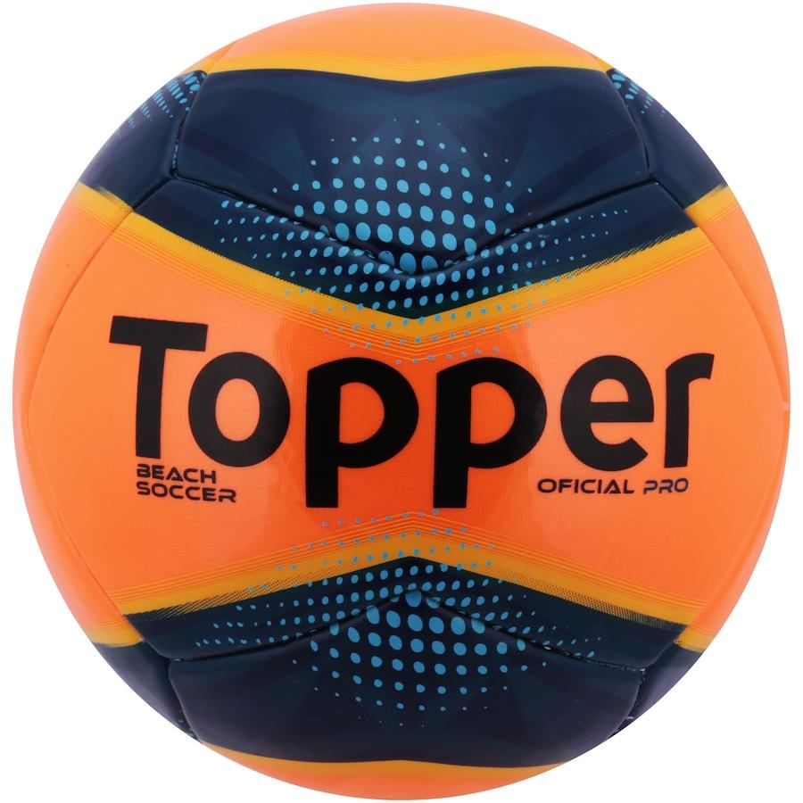 Bola de Futebol de Areia Topper Beach Soccer Pro 5a3011824301d