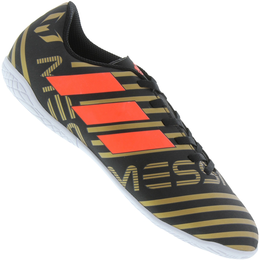 Chuteira Futsal adidas Nemeziz Messi 17.4 IN - Infantil a2f6d61047c6e