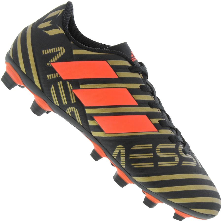 Chuteira de Campo adidas Nemeziz Messi 17.4 FG - Adulto d796fd572d3b4