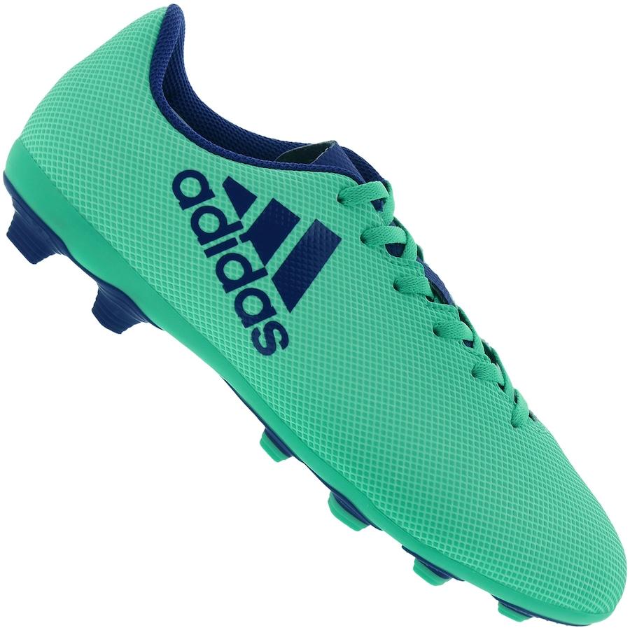 Chuteira de Campo adidas X 17.4 FXG - Infantil dbb90b542c641
