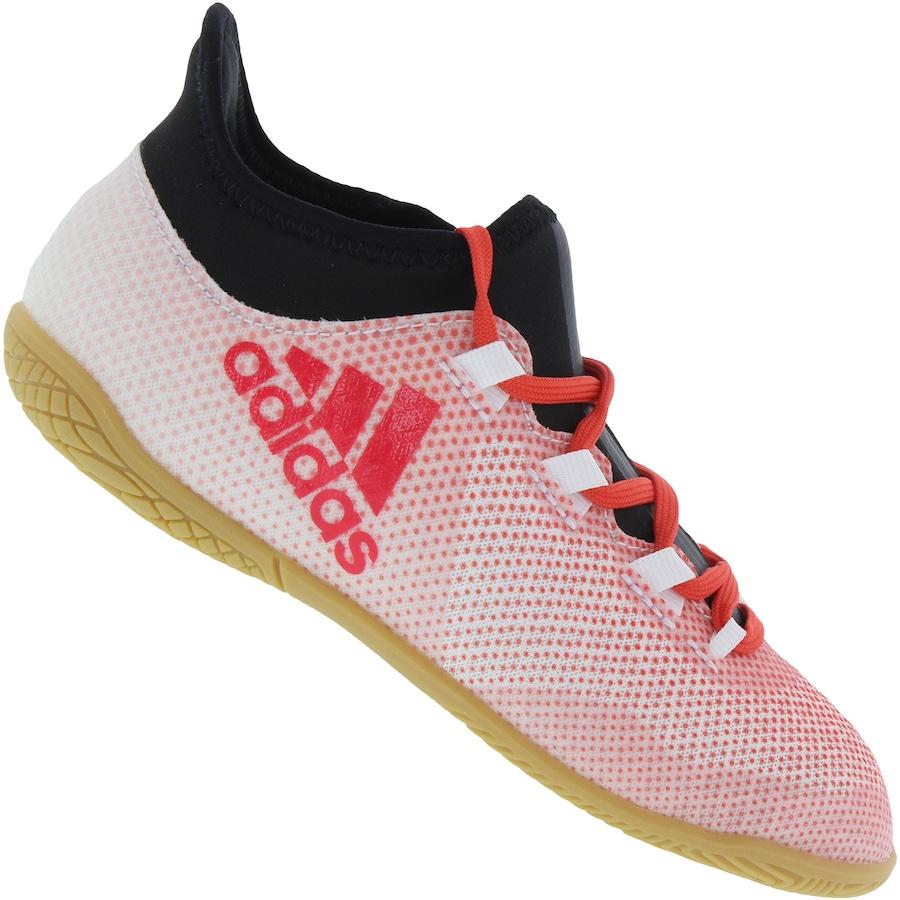 Chuteira Futsal adidas X Tango 17.3 IN - Infantil 2730a78fd0356