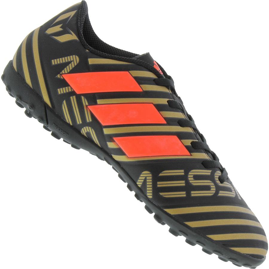 ceae1118ff Chuteira Society adidas Nemeziz Messi 17.4 TF - Adulto - Flamengo Loja