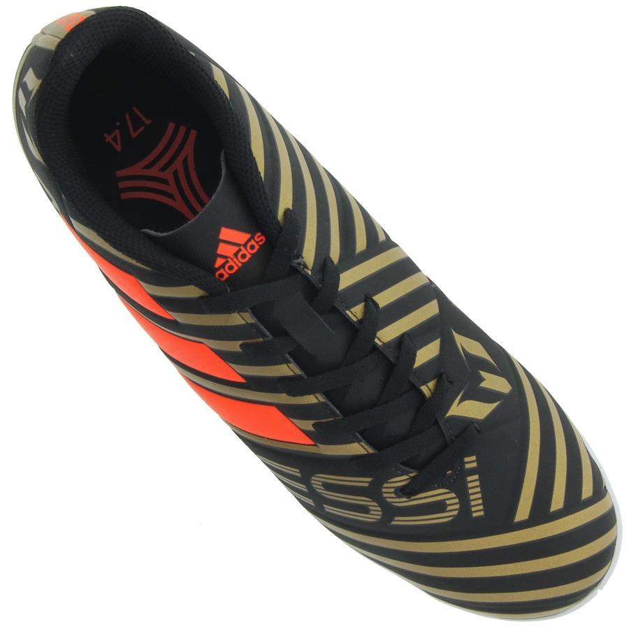 Chuteira Futsal adidas Nemeziz Messi 17.4 IN - Adulto 42bf277d56ea4