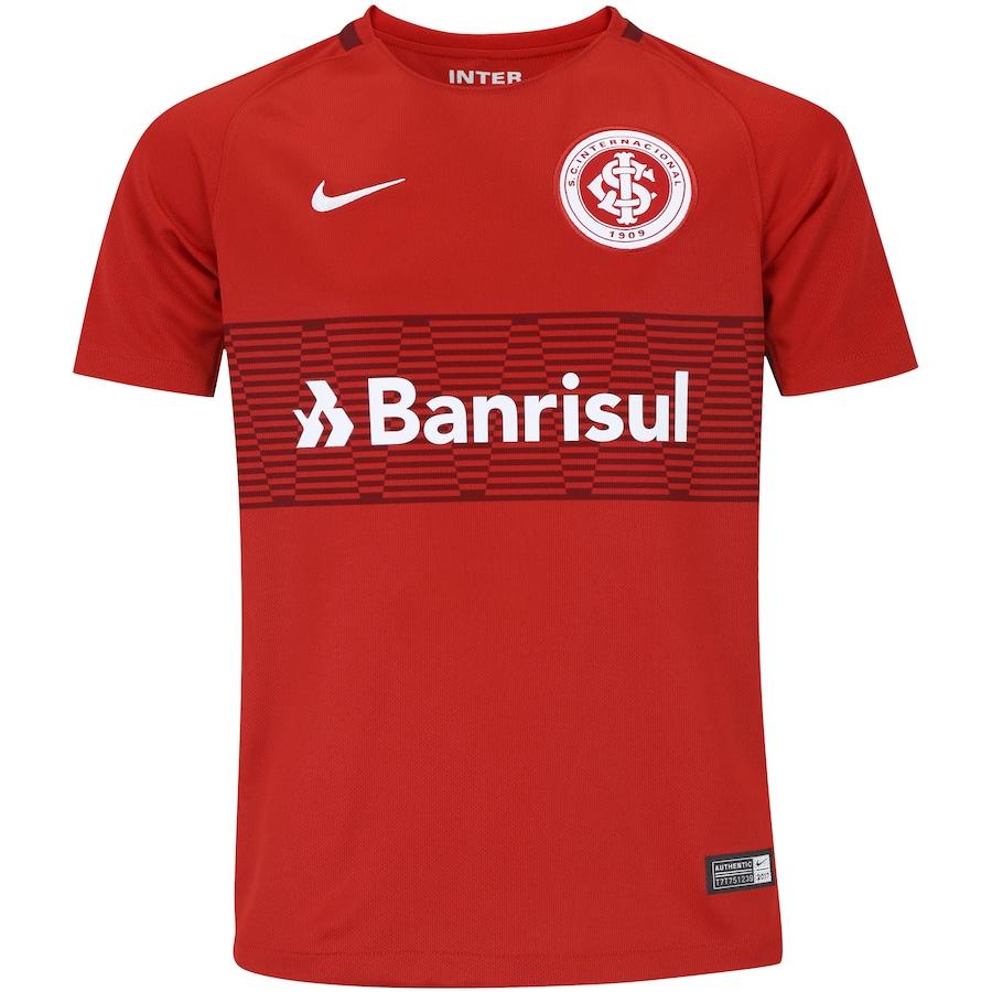 d0fcb1fc65 Camisa do Internacional I 2017 Nike - Infantil