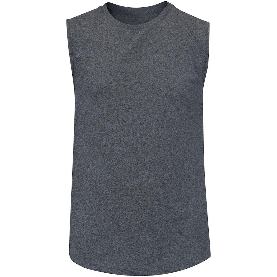 77973ec8a5c4a Camiseta Regata Oxer Básica Mescla - Masculina
