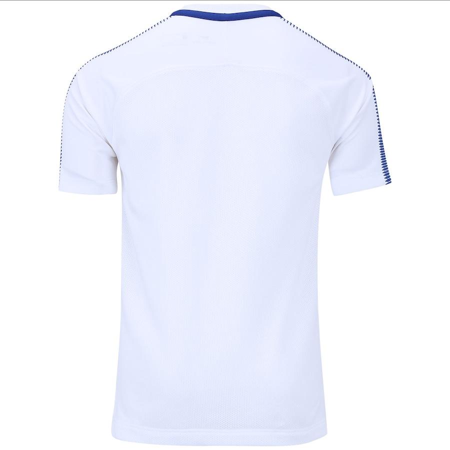 Camisa de Treino Chelsea 17 18 Nike - Infantil 54f7e9fbf659b