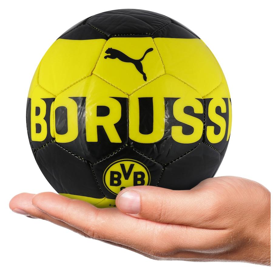 Minibola de Futebol de Campo Borussia Dortmund Fan Puma 7cfac76dd9375