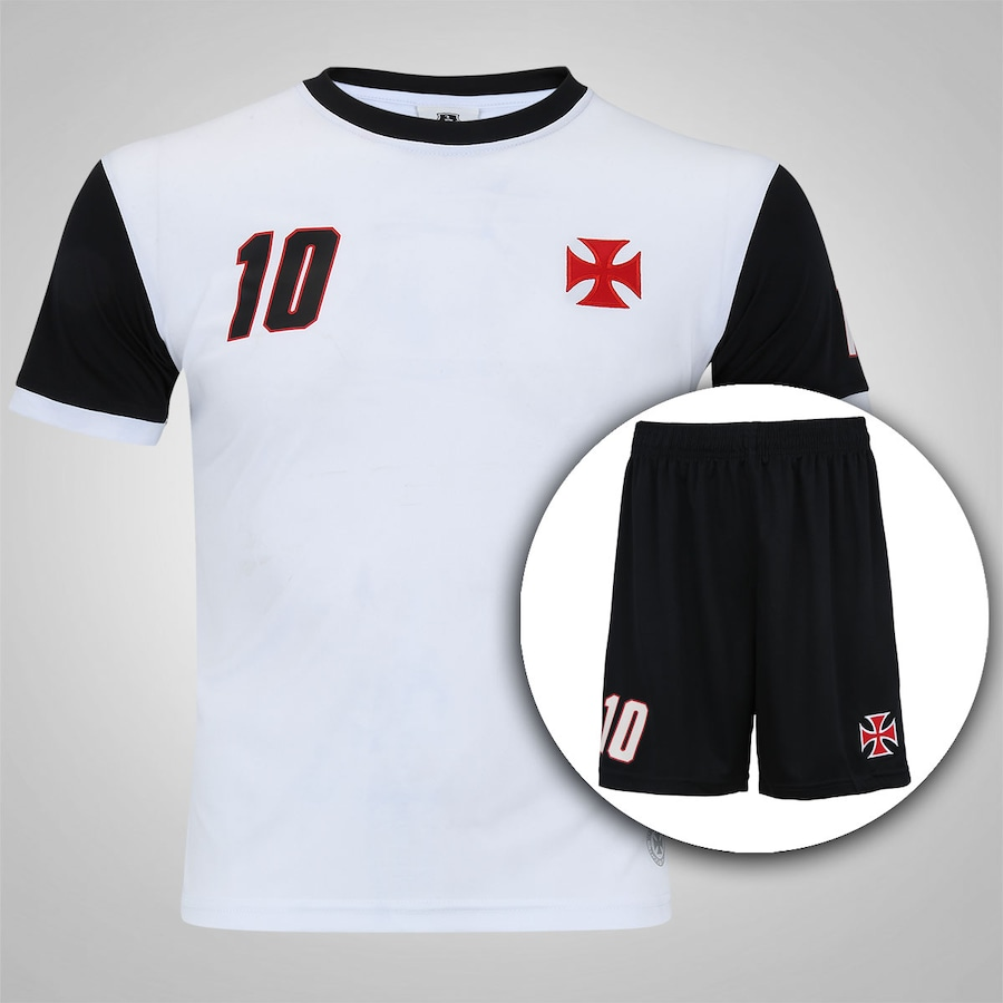 3f59b492f5 Kit de Uniforme de Futebol do Vasco da Gama - Infantil
