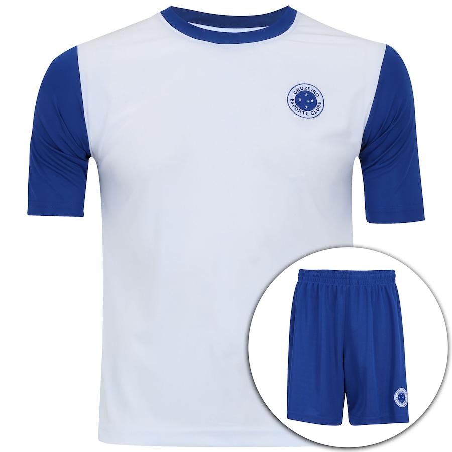 603a042318 Kit de Uniforme de Futebol do Cruzeiro Estrelas - Infantil