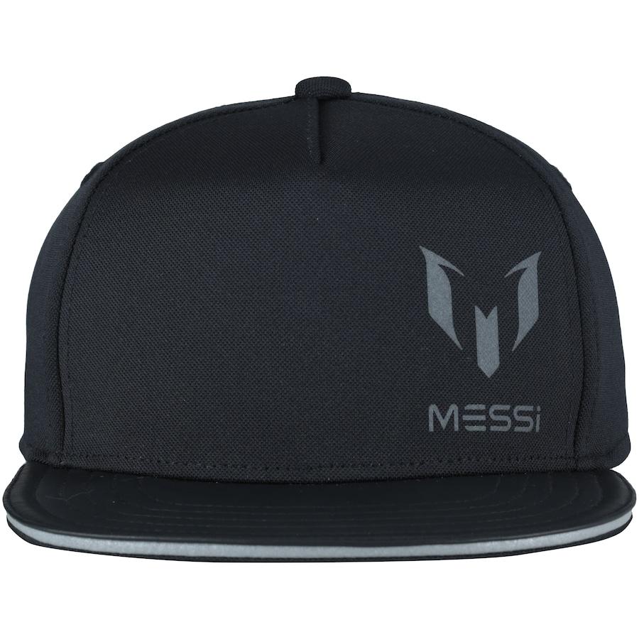 cdfc40a5e6853 Boné Aba Reta adidas Messi Kids - Snapback - Infantil