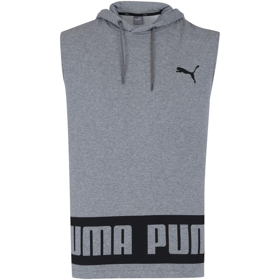 Camiseta Regata com Capuz Puma Rebel HD TR - Masculina