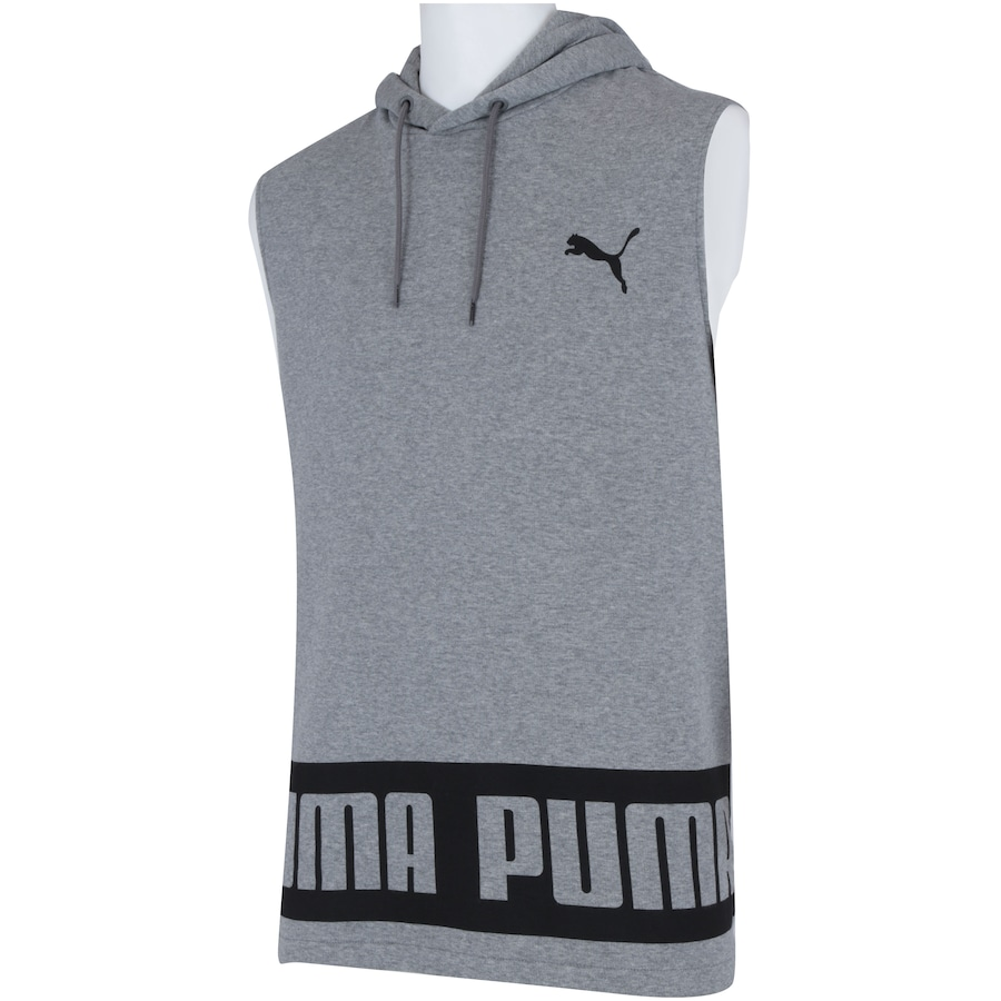 Camiseta Regata com Capuz Puma Rebel HD TR - Masculina 1feafe5df63