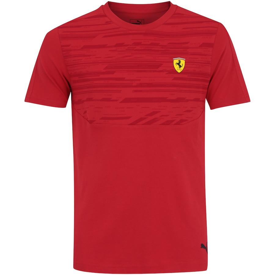 61f8837136b52 Camiseta Puma Scuderia Ferrari - Masculina