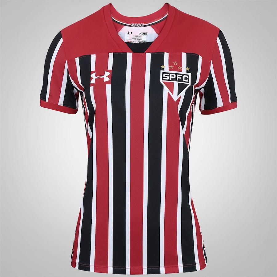 e01d6728a4 Camisa do São Paulo II 2017 Under Armour - Feminina