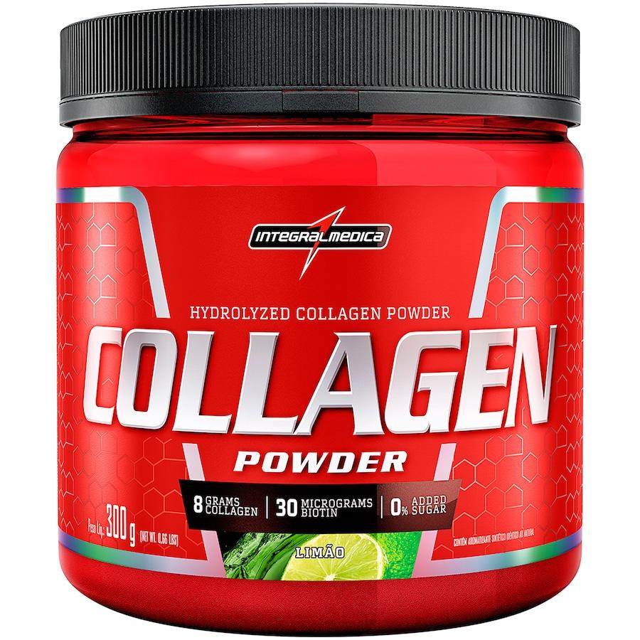 Colágeno Integralmédica Collagen Powder - Limão - 300g
