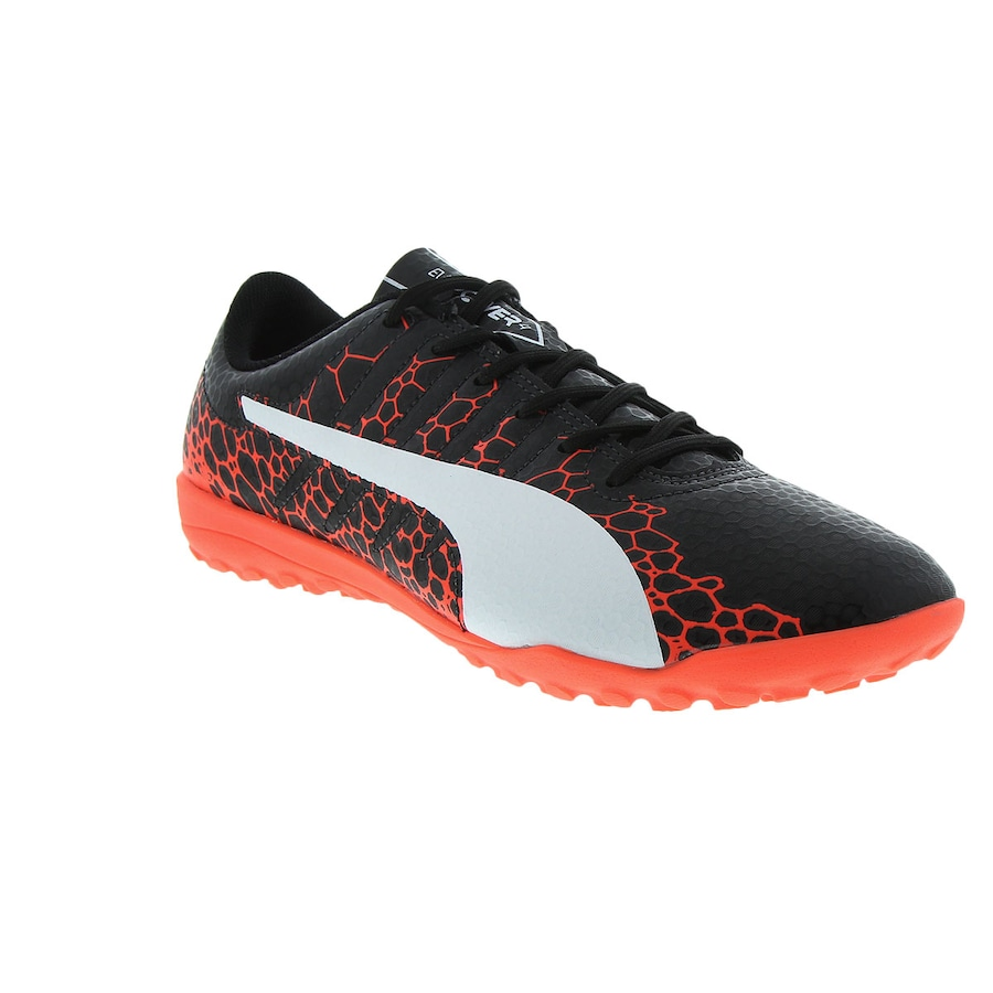 Chuteira Society Puma Evopower Vigor 4 Graphic TF - Adulto e320da91d1e90